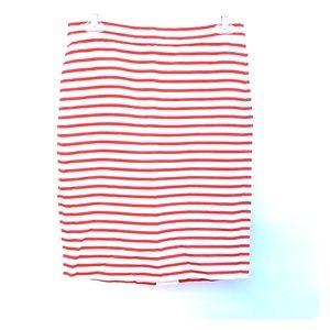 Jcrew Linen pencil Skirt